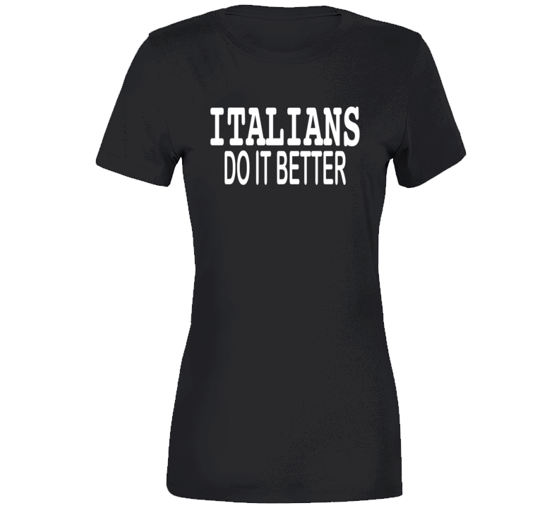 Italians Do It Better 1986 Papa Don't Preach Video T-shirt