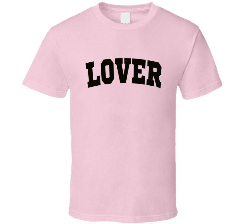 Lover Pink T-shirt Colton Underwood Bachelor Lover Shirt
