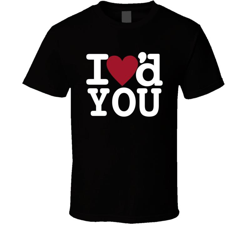 I Heart You Rob K. Tv Celebrity Reality T Shirt