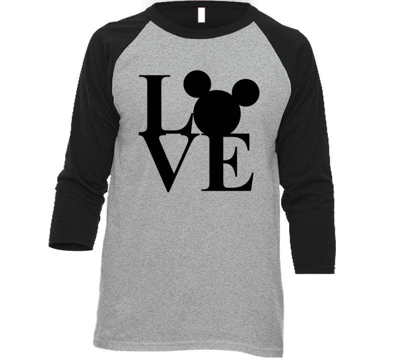 Love Disney Mickey Ears Park Parade Vacation T Shirt
