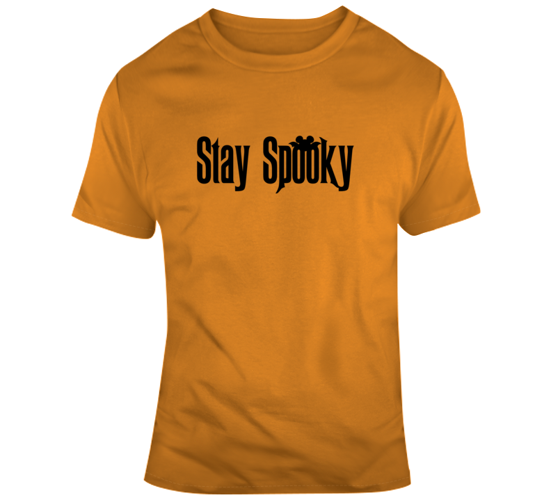 Stay Spooky Halloween Haunted Mansion Bat Mouse Ears T Shirt