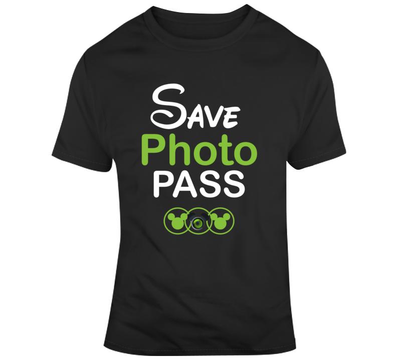 Save Disney Photopass Photographer Support T Shirt