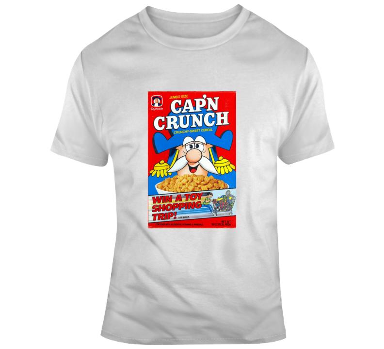 Cap'n Crunch Retro Cereal Box T Shirt