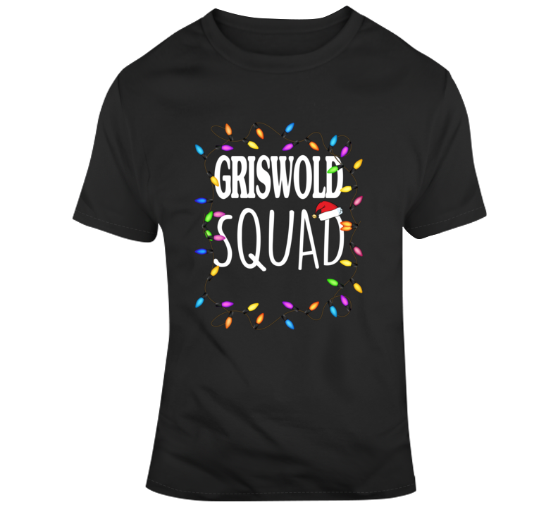 Christmas Vacation Griswold Squad Clark Griswold T Shirt
