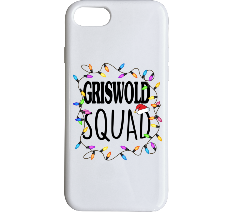 Griswold Squad Christmas Vacation Clark Eddie Phone Case