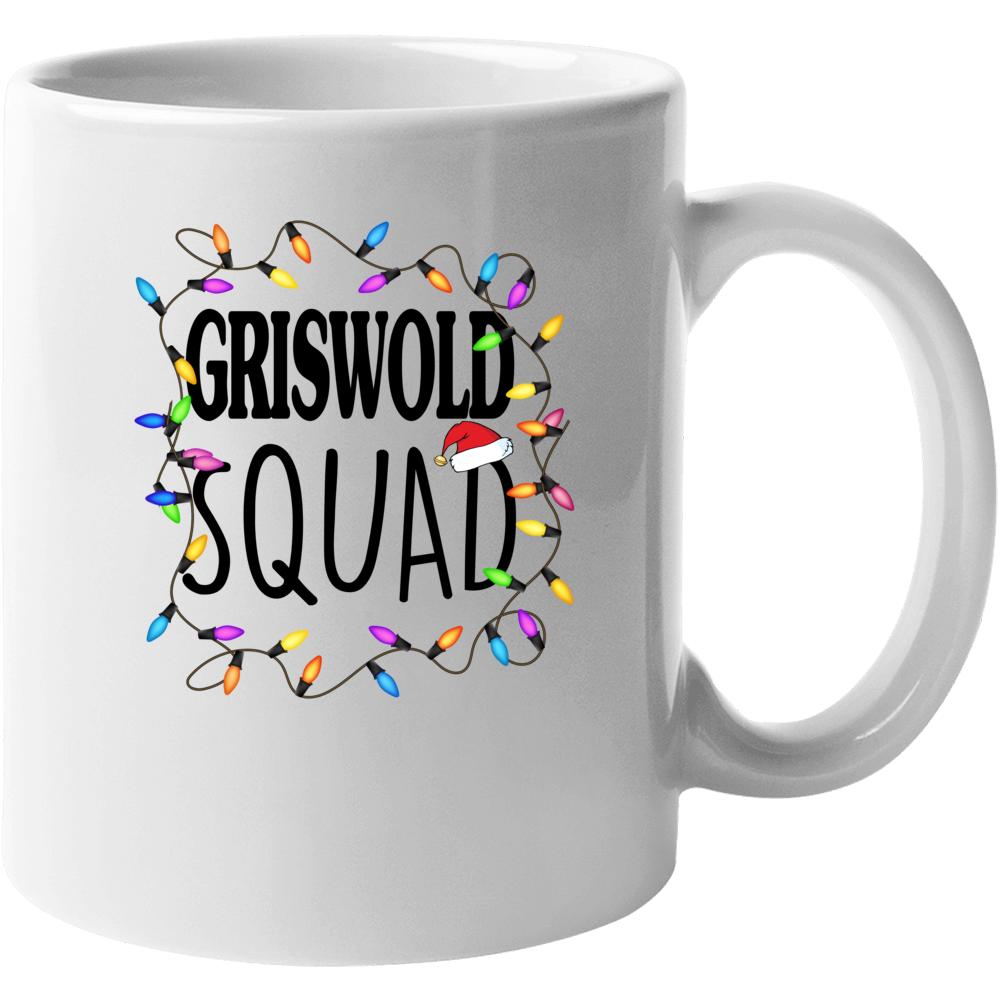Griswold Squad Christmas Vacation Clark Eddie Mug
