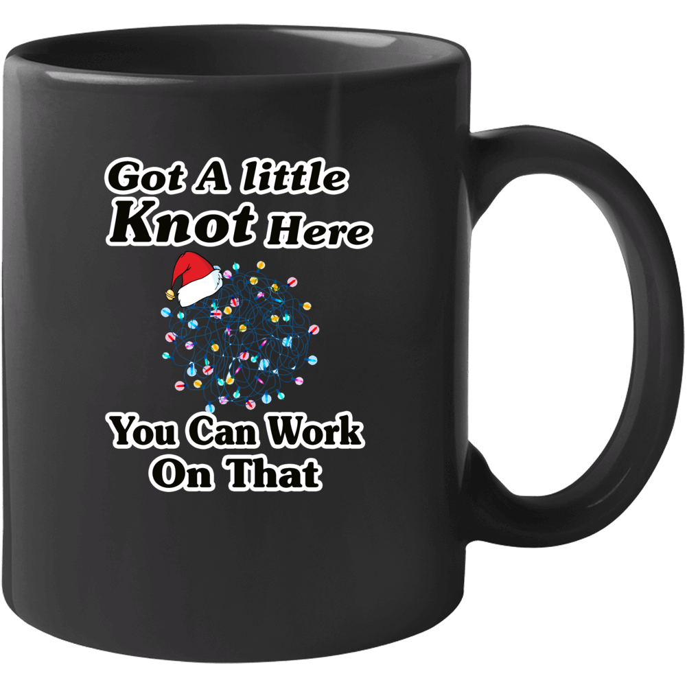 Christmas Vacation Got A Little Knot Here Clark Griswold Lights Mug