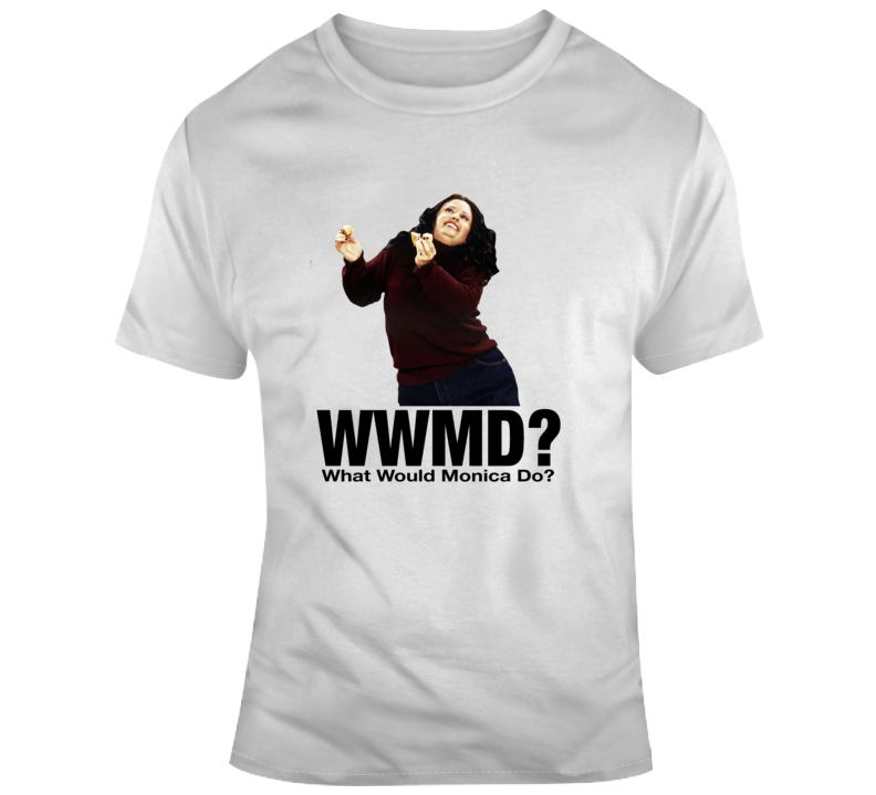 Friends What Would Monica Do? Fat Monica Dancing T Shirt