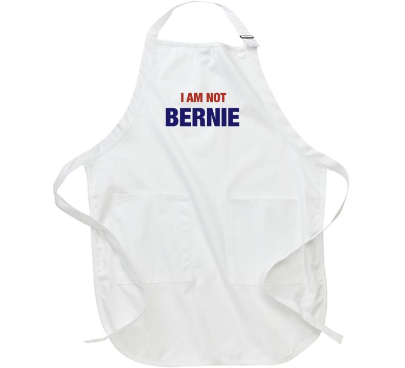 I Am Not Bernie Doppelganger Funny Polical Sanders Crewneck Sweatshirt Apron