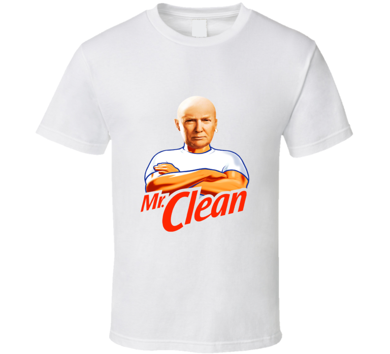 Donald Trump Mr. Clean SNL Funny Parody T Shirt
