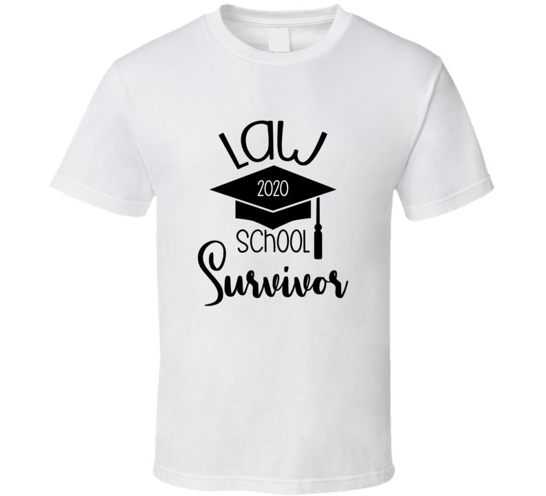 Law School 2020 Survivor Law Graduate 2020 Cap T Shirt