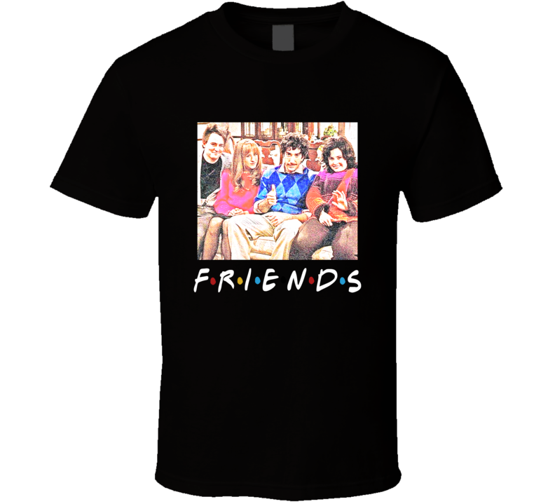 Friends Throwback Thanksgiving Tv Episode T Shirt