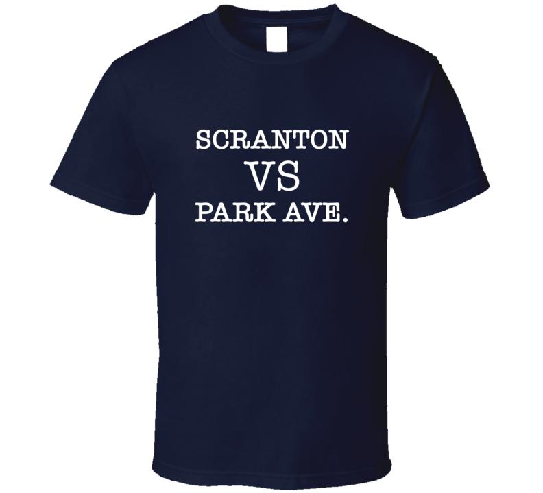 Scranton Vs. Park Avenue Joe Biden Support 2020 United States Election T Shirt