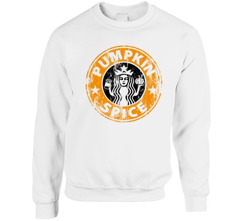 Pumpkin Spice Fall Sweatshirt  Crewneck Sweatshirt