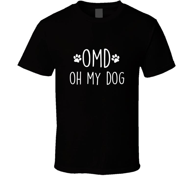 Omg Oh My Dog, Doggo Talk Dog Text Code T Shirt
