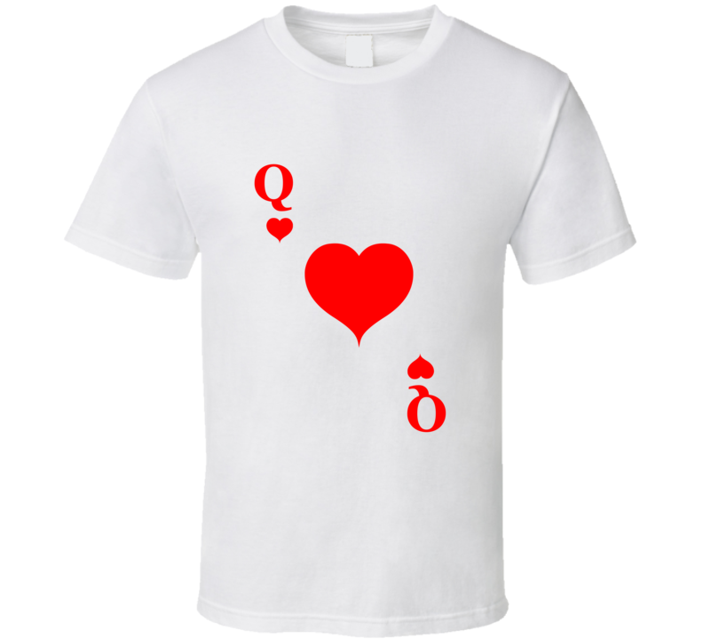 Queen Of Hearts Halloween Costume Tshirt Couples Costume T Shirt