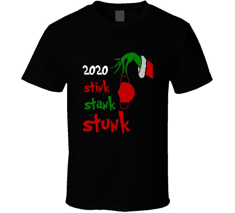 2020 Stink Stank Stunk Christmas Grinch Ornament T Shirt