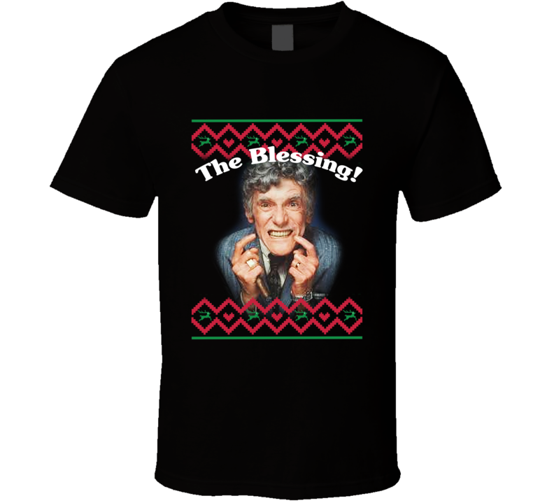 Uncle Lewis The Blessing! Lampoon's Christmas Vacation Graphic T Shirt