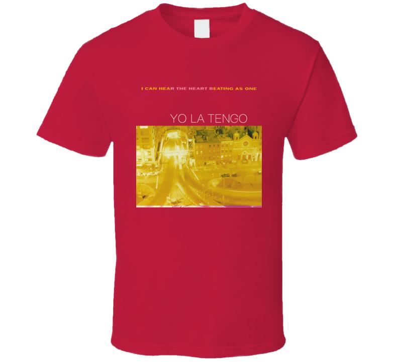 Yo La Tengo - I Can Hear The Heart Beating As One Red T Shirt