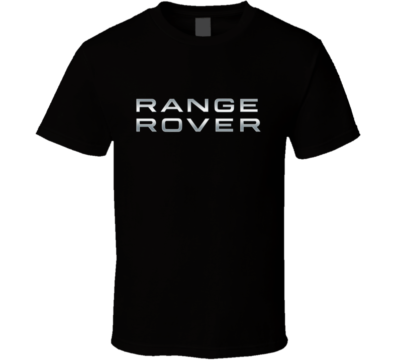 Range Rover Silver Logo T Shirt