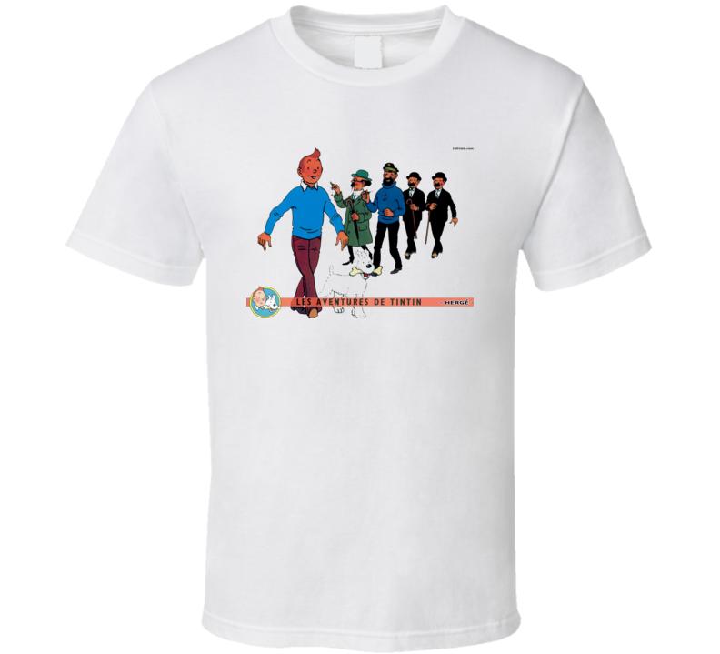 Tintin 4 T Shirt