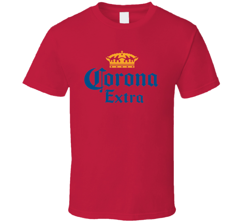 Corona Extra logo Red T Shirt