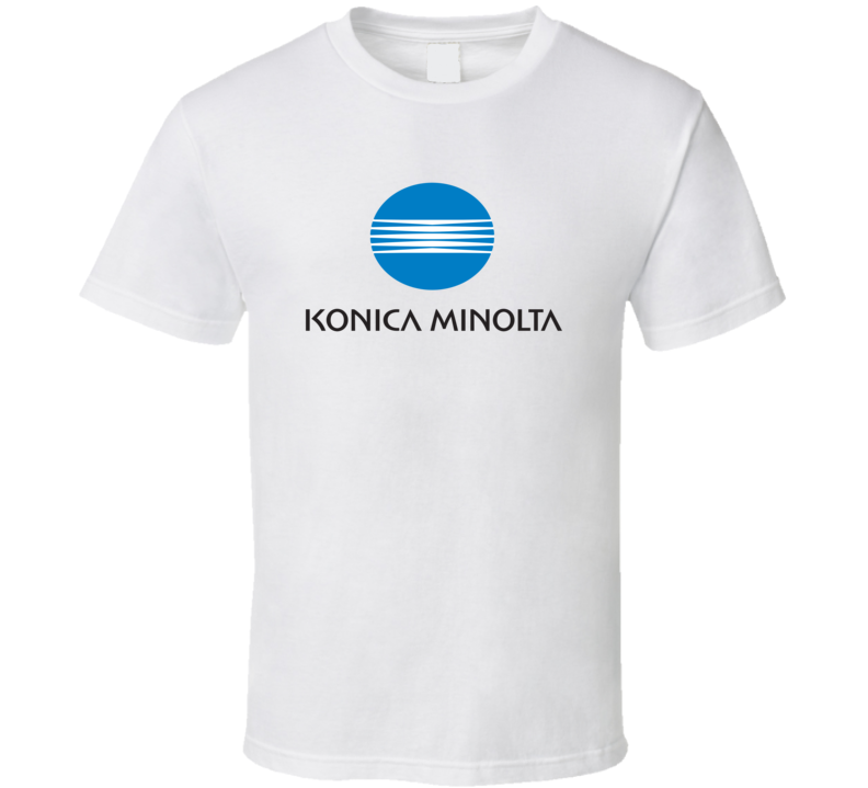 Konica Minolta Logo T Shirt
