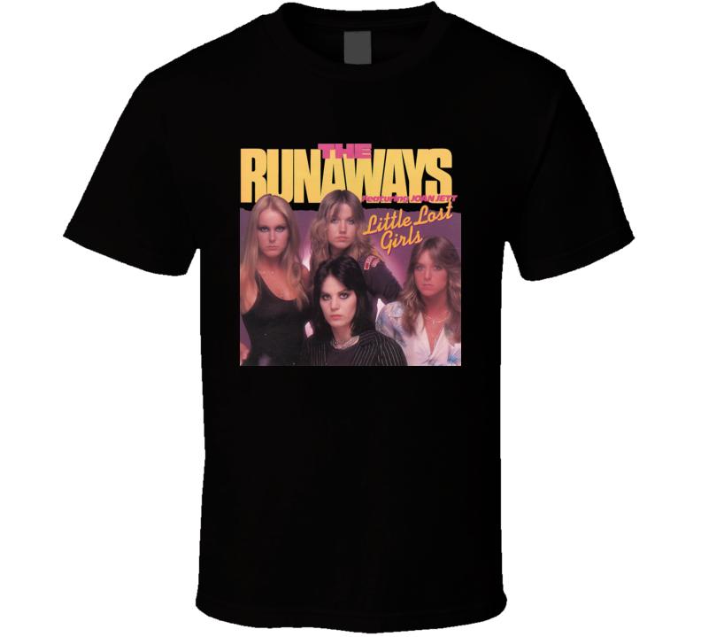 The Runaways Joan Jett Little Lost Girls T Shirt