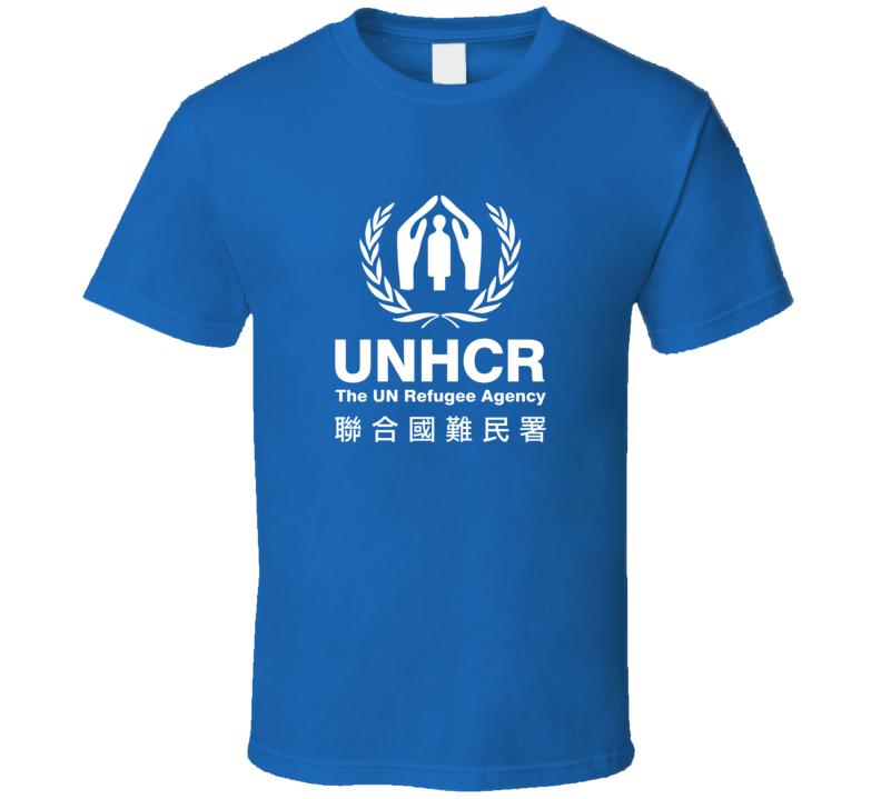 UNHCR logo Asia Royal Blue
