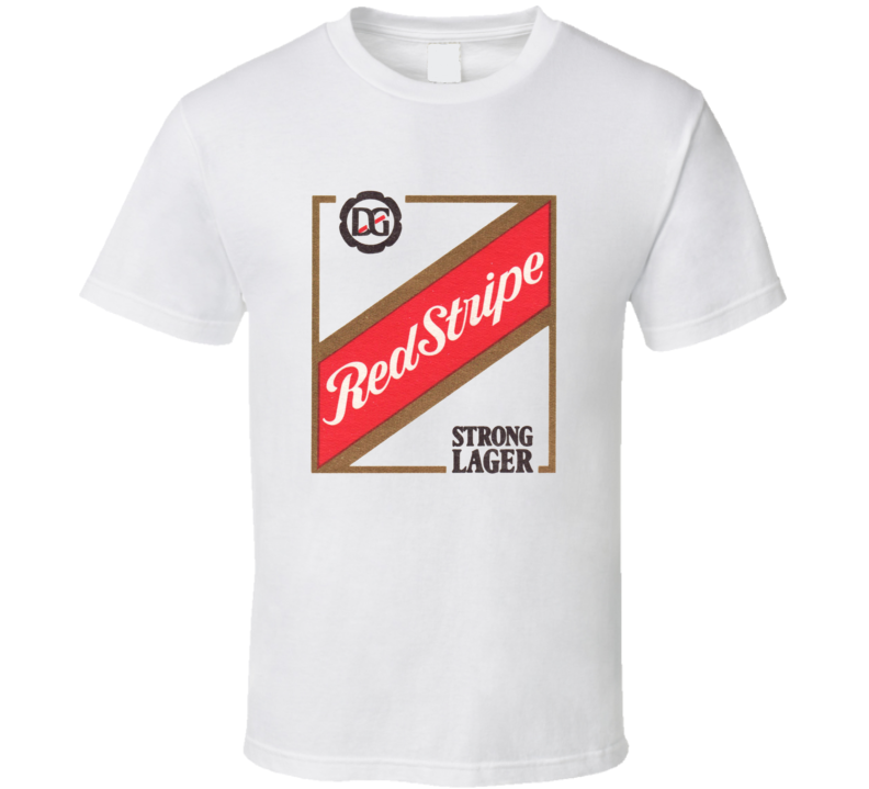 Red Stripe Larger Strong