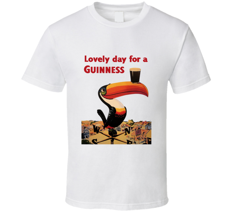 Guinness Classic Beer Poster T Shirt