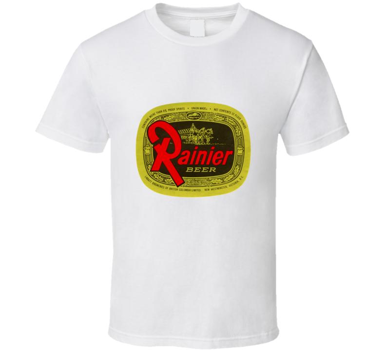 Rainier Beer Logo T Shirt