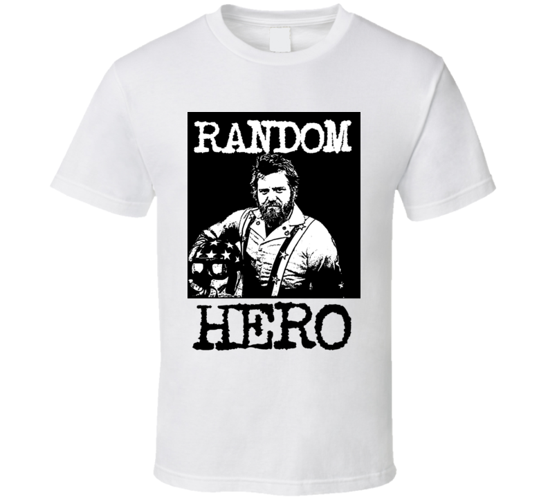 Jackass Ryan Dunn Random Hero T Shirt
