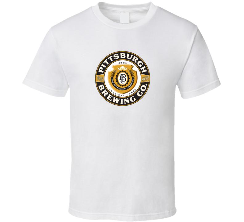 PBC Pittsburgh Brewing Logo T Shirt