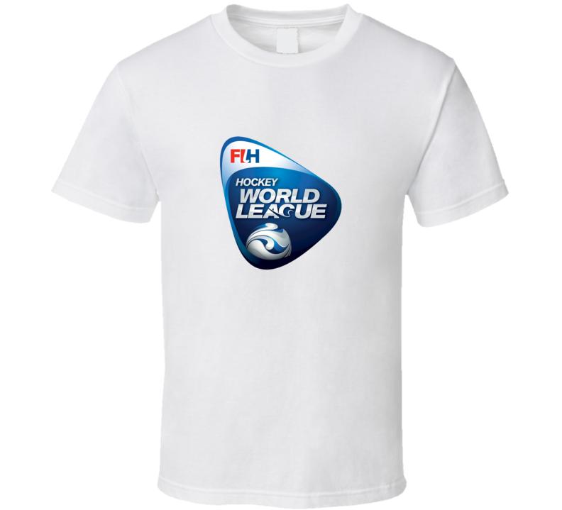FIH Hockey World League Logo T Shirt