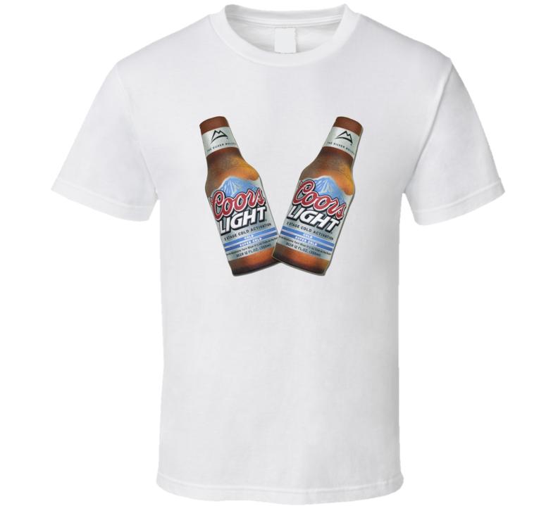 Coors Light Koozies T Shirt