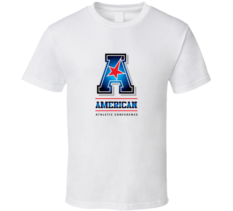 AAC American Athletic Conference Logo T Shirt