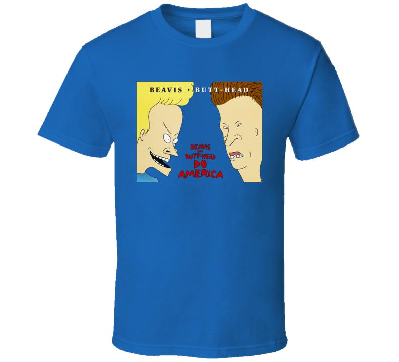 Beavis and Butt Head Do America bb64 T Shirt