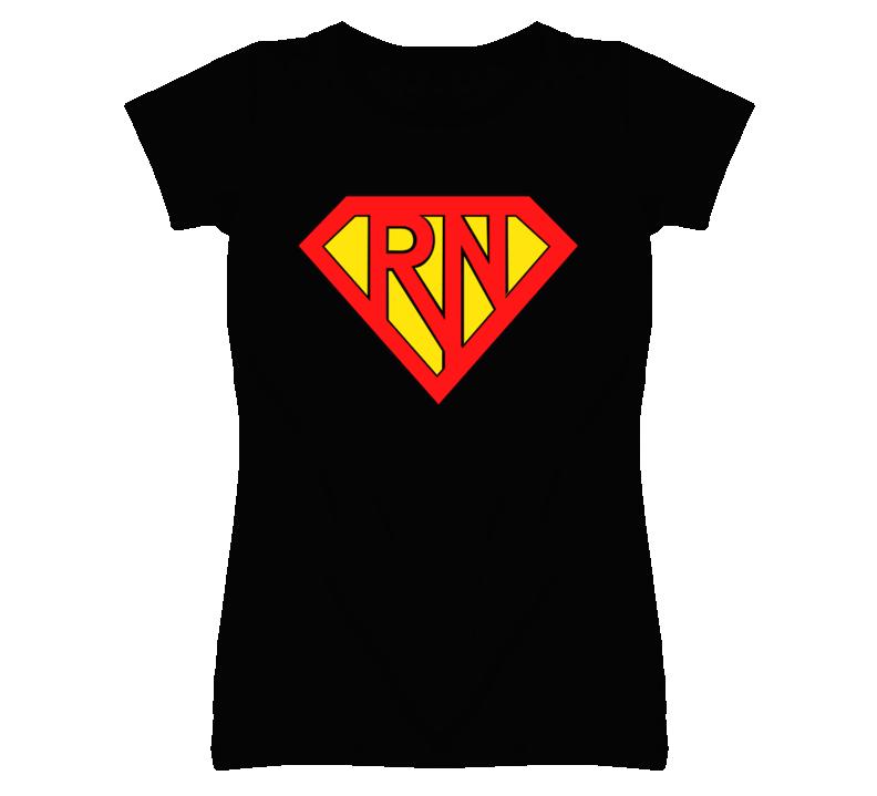 SuperRN Nurse Funny T Shirt