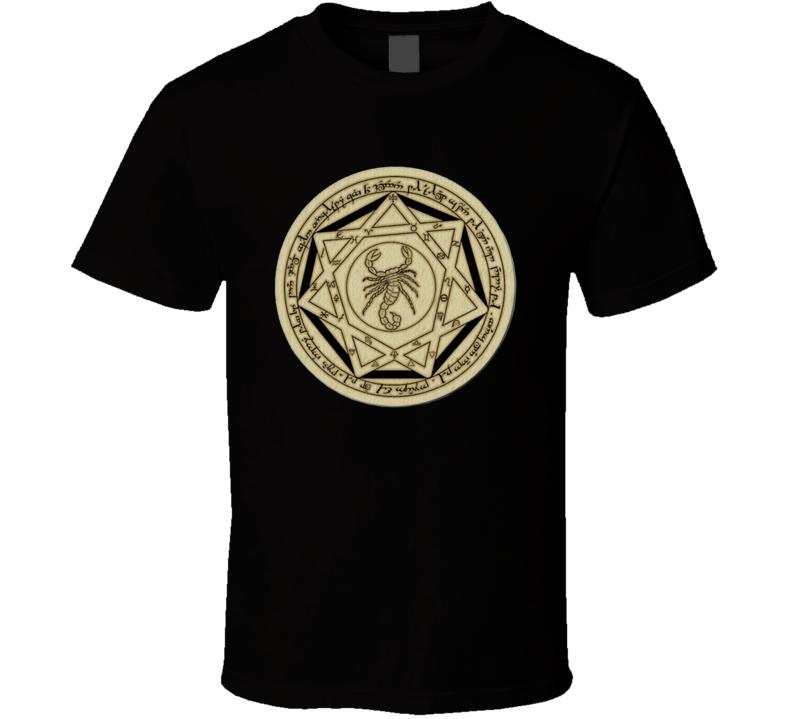 Super Natural Supernatural Devil Trap Symbol T Shirt