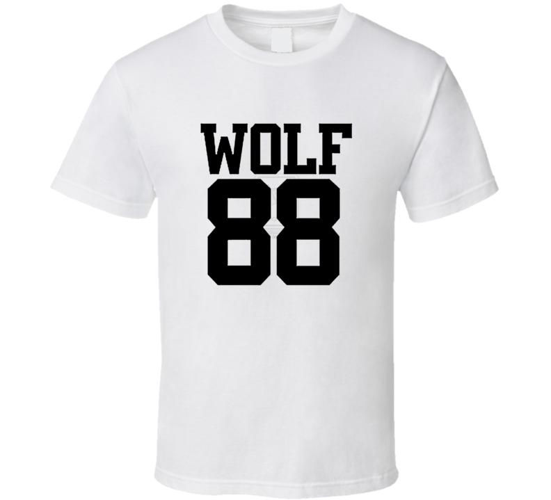 Wolf 88 Logo T Shirt