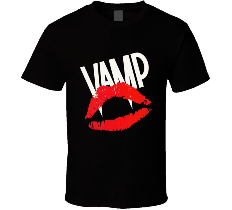Vamp 80s Vampire T Shirt