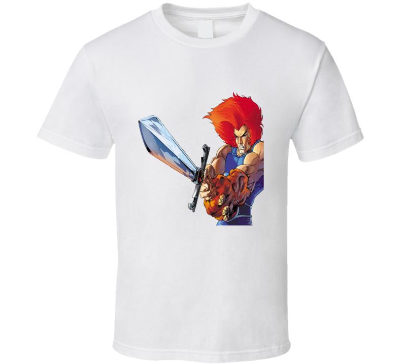 Thundercats Silver Sword Cartoon Poster T Shirt
