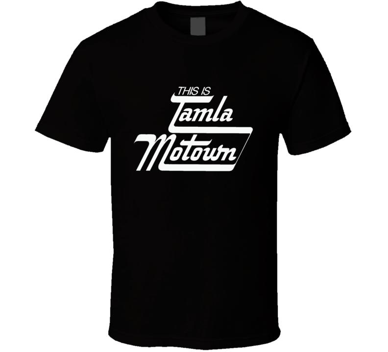 Tamla Motown Logo T Shirt
