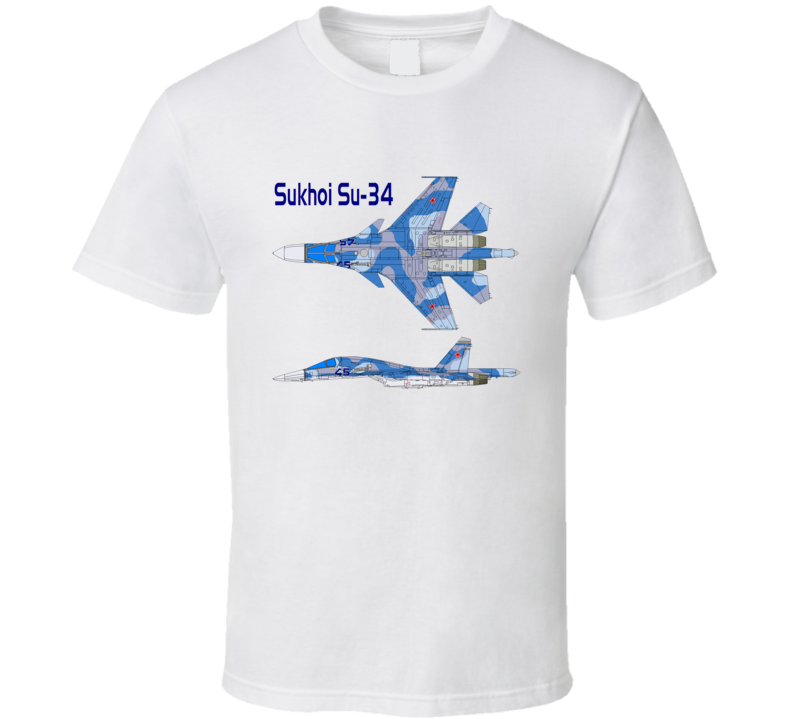 Sukhoi Su 34 Prototype T Shirt