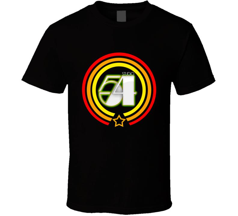 Studio 54 Nightclub Retro T Shirt
