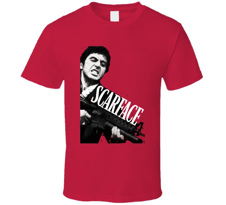 Scarface Al Pacino 1983 Poster T Shirt