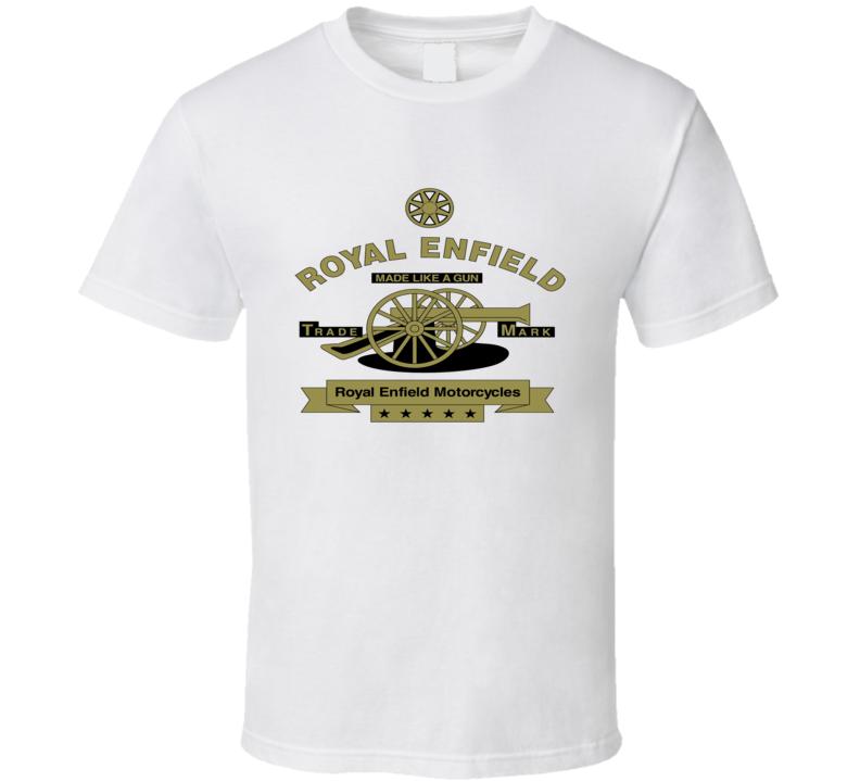 Royal Enfield Motorcycles Logo T Shirt