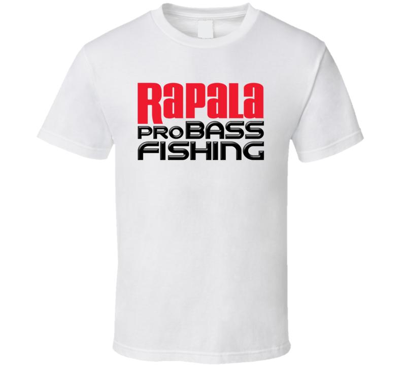 Rapala Pro Bass Fishing Logo T Shirt