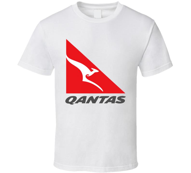 Qantas Airlines Airways T Shirt